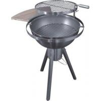 China Stainless Steel Charcoal Grill with Side Table on sale