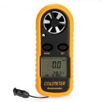 China Handheld Digital LCD Wind Speed Meter Thermometer Anemometer for Surfing Sailing on sale
