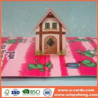 China How To Make A Free House Pop Up Card Templates on sale