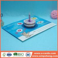 China Free Cool Printale Pop Up Birthday Card Templates on sale