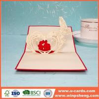 Buy cheap 3d Valentine Love Photo Card from wholesalers