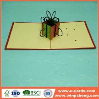 Buy cheap New Custom Laser Cut Christmas Cards from wholesalers
