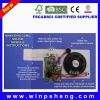China Greeting Card Recordable Recorder Sound Chip on sale