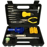 15 in 1 watch repair tools kit with plastic box Model:G023 Manufactures