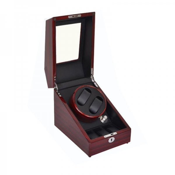 Quality Grained 2+3 Daul Gallery Luxury Watch Winding winder box, Automatic Watch Winder Box Model:G031 for sale