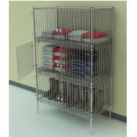 Locker - Stationary Chrome Security Cage Manufactures