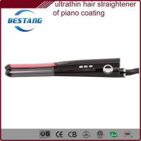 China 11mm ultrathin tourmaline ceramic flat iron on sale