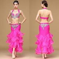 Professional Performance Belly Dance Women Skirt Costume,Adult Belly Dance Wear Manufactures