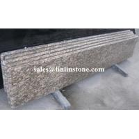 China Vanity & Counter Tops Giallo Fiorito Granite Countertop on sale
