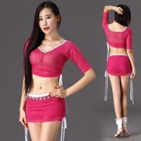 Sexy Comfortable Belly Dance Practice Wear Costume,Belly Dance Practice Outfits Manufactures