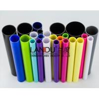 Buy cheap High quality colorful different size acrylic round tubes acrylic round pipes from wholesalers