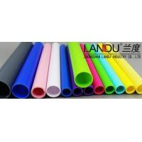Buy cheap High quality color different size solid color acrylic round tubes acrylic round pipes from wholesalers