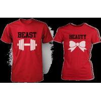 Beauty & Beast Red Matching Couple Shirts (Set) Manufactures
