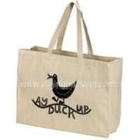 canvas bag Wholesale Cotton Canvas Tote Bag With Gusset Manufactures