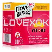 I loves Sex 50 pcs / lot Men Ultra-thin Condoms Natural Latex Adult Product Sealed Manufactures