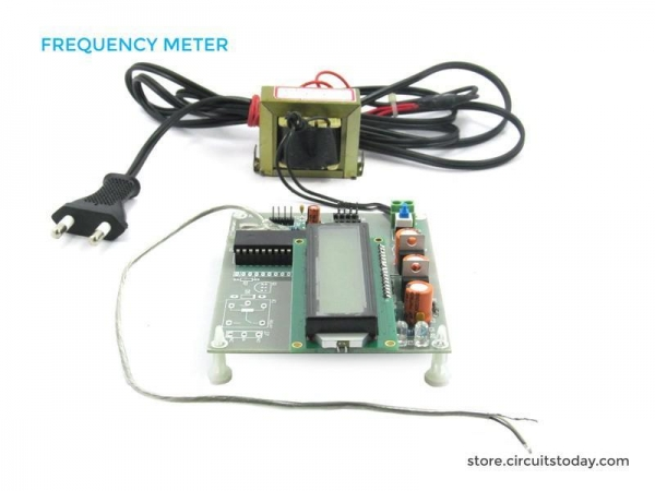 Frequency Counter Projects : Frequency counter and meter using electronic