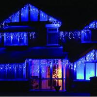 Buy cheap 4Meter 100 LED Icicle Christmas Holiday Lights with Green Wire, warm white from wholesalers
