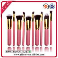 China New style hot pink make up brushes on sale