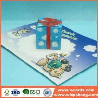 China Handmade Card 3D Pop Up Xmas Cards To Make on sale