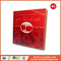 China Handmade Card Make Your Own Sound Module Greeting Card on sale