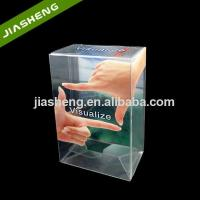 Buy cheap Clear 0.35mm PET Rectangular Electronics Plastic Folding Box For Electrical Equipments from wholesalers