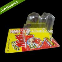 Buy cheap New Design PP Material Plastic Slide Blister Packaging With Cartoon Toy Cardboard from wholesalers