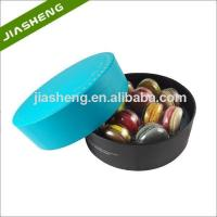 Buy cheap Clear Round Blister Tray For 12pcs Macarons Box With Printing from wholesalers
