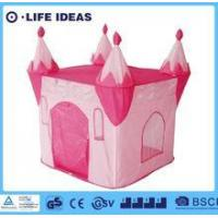 China Kids play tent Children Large Cube Priness Castle Pop Up play tent plat house on sale
