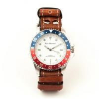 Mens Watches Nato Diver Watch - Walnut Band Manufactures