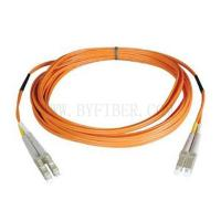 China LC to LC Multimode Duplex Fiber Optic Patch Cord on sale