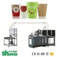 China Shunda Paper Cup Making Machine Prices For Making Ice Cream Cup on sale