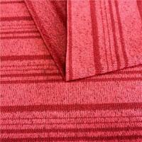 China BP040 Polyester fleece yarn-dyed striped flannel fabric for winter clothing on sale