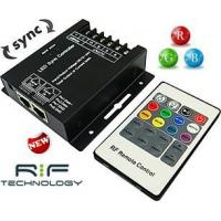 China 12VDC / 24VDC RGB Controller With Sync Option & 20-Key RF Remote (24 Amp) on sale