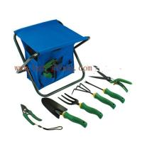 China Rubber handle garden tool set ,easy carrying garden tool set on sale
