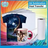 China Hot sale t-shirt sublimation heat transfer paper roll best quality printing a4 transfer paper on sale