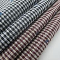 Yarn Dyed Jacquard Fabric With Gingham Manufactures