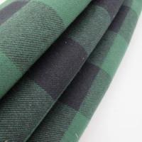 plaid flannel fabric wholesale 100% Cotton Yarn Dyed Check Fleece Fabric Manufactures