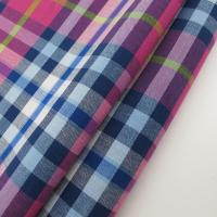 Yarn Dyed Check Blend Fabric Manufactures