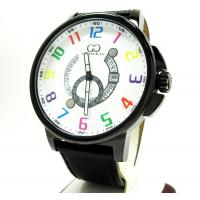 Curtis & Co Black Stainless Steel Big Time Cool White Watch Manufactures
