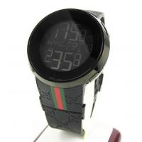 Mens Igucci Black Stainless Steel Digital Watch Manufactures