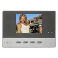 China Hand-free intercom 3.5 inch video door phone monitor for vil on sale