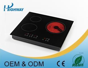 China Built-in Hob 5300W Built-in infrared and induction cooker