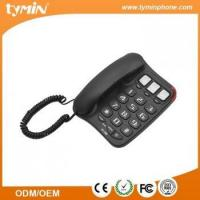 3 groups one-touch memories speakerphone big button telephone for elderly use(TM-PA026)