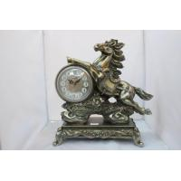 China Decoration Horse Shape Gift Clock wholesale