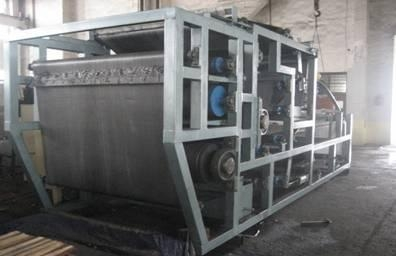 Quality DGZ Fixed Vacuum Belt Type Filter Press for sale