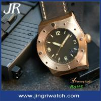 Buy cheap Hand winding japan automatic movt 30ATM water resistant brozen automatic mechanical watch from wholesalers