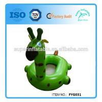 Buy cheap Inflatable Giraffe Swim Floating Seat Boat from wholesalers