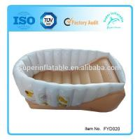 Buy cheap Inflatable Infant Bath Tub, Safety Baby Bath tub, Infant Baby Bathtub from wholesalers