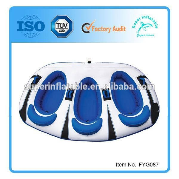 Quality Towable Tube 1~3 Person Inflatable two Riders for sale