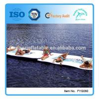 Inflatable water mat Manufactures